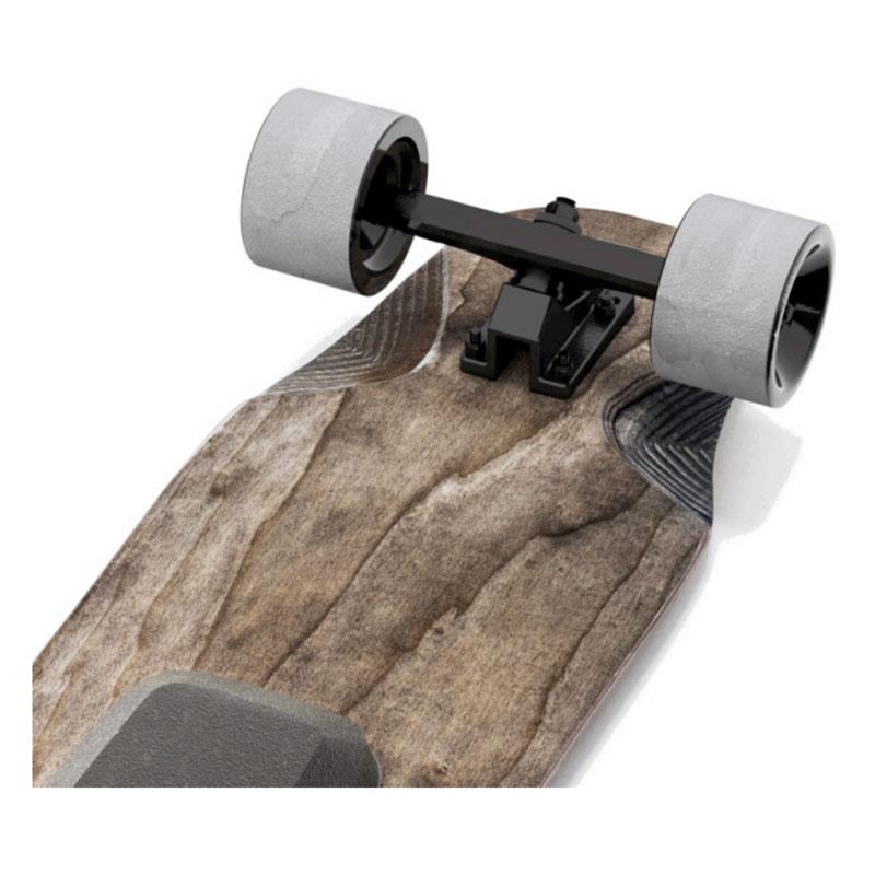 Skateboard électrique Halokee trucks