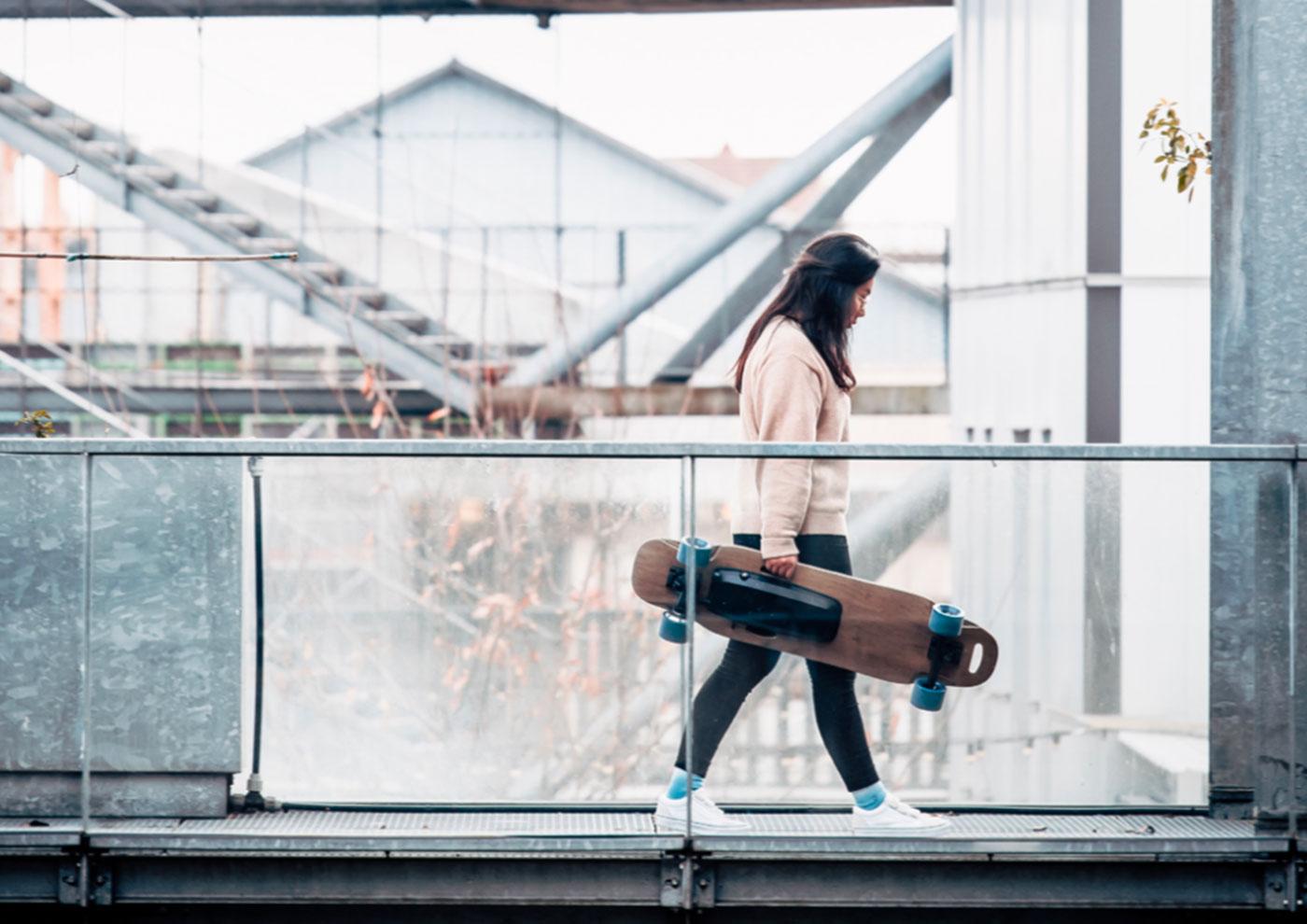 Skateboard électrique Halokee